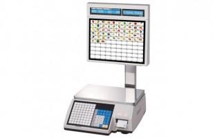 С печатью этикеток весы Cas CL-5000J-30IS (TCP/IP)