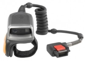 ZEBRA RS5000 2D IMAGER RING SCANNER TO WT6000 WEARABLE TERMINAL, SHORT CABLE TO WRIST