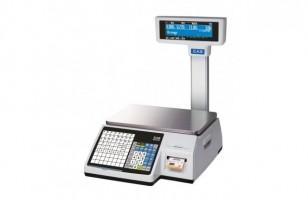 С печатью этикеток весы Cas CL-3000-30P (TCP/IP)