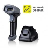 Сканер ШК (ручной, 2D имидж, серый) CS2290 2D BT, зарядно-коммуникационная база, USB