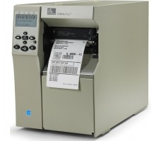 Zebra 105SL Plus, 203dpi, RS232, LPT, USB, Ethernet, внутренний смотчик
