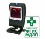Сканер ШК (стационарный, 1D/PDF/2D имидж) MK7580 Genesis, кабель USB