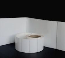 Этикетки полипропилен 58х30 мм (1000 шт/р)