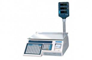 С печатью этикеток весы Cas CL-3000J-15P (TCP/IP)