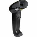 Сканер ШК (ручной, лазерный, черный) 1250g, подставка, кабель USB