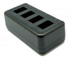 Четырехслотловая зарядка аккумуляторов для ТСД Point Mobile, БП