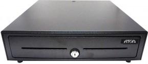 Денежный ящик АТОЛ EC-410-B черный, 410*415*100, 24V