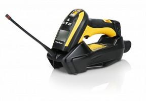 Сканер ШК (ручной,,433 Mhz радио) PowerScan M9500RB, в комплекте с базовой станцией, кабелем USB, блоком питания
