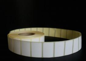 Термоэтикетки 43х25 мм (1000 шт/р) ЭКО (80 рул/кор)