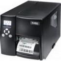 EZ-2350i+, промышленный принтер (металлический корпус, литая несущая конструкция), 300 DPI, 5 ips, цветной ЖК дисплей, и/ф RS232/USB/TCPIP+USB HOST, (дюймовая втулка риббона)