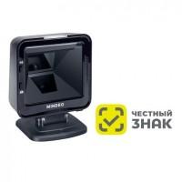 Сканер ШК (презентационный, 2D имидж, черный) Mindeo MP8600 с подставкой